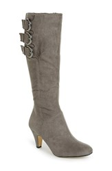 Women's Bella Vita 'Transit Ii' Knee High Boot Grey Suede