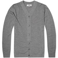 Ymc Baseball Cardigan Grey