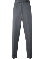 Dolce And Gabbana Vintage Straight Leg Trousers Grey