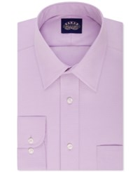 Eagle Slim Fit Non Iron Solid Dress Shirt Purple