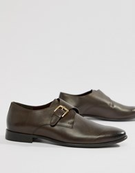 Kg By Kurt Geiger Single Monk Shoes In Brown