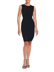 Lafayette 148 New York Subtle Y Style Dress Black