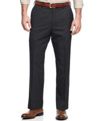 Louis Raphael Dress Pants Comfort Fit Wool Straight Fit Graphite