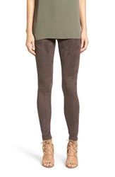 Sun And Shadow Women's Faux Suede Leggings