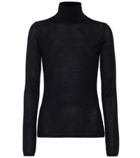 Gabriela Hearst Casilkyrn Cashmere And Silk Sweater Blue