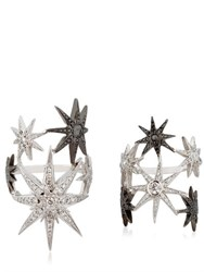 Colette Jewelry White Star Ring Set
