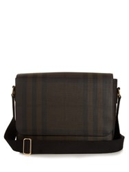 Burberry London Check Messenger Bag Brown Multi