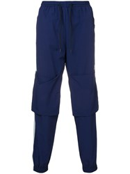 P.A.M. Perks And Mini Pam Odyssey Track Trousers Blue