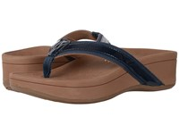Vionic High Tide Navy Patent Leather Women's Sandals
