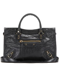 Balenciaga Classic City S Leather Tote Black