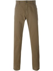 Dolce And Gabbana Slim Fit Jeans Brown