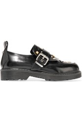 Mcq By Alexander Mcqueen Studded Leather Loafers Black