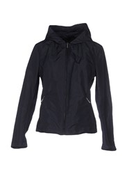 Aquarama Coats And Jackets Jackets Women Dark Blue
