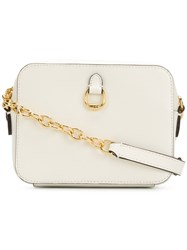 Ralph Lauren Zipped Cross Body Bag White