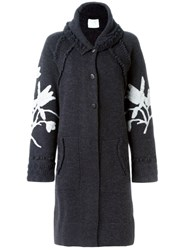 Barrie 'Foujita' Cardi Coat Grey