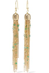 Rosantica Iliade Gold Tone Quartz Earrings One Size