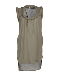Nude Short Dresses Grey