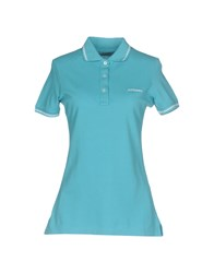 Roy Rogers Roger's Polo Shirts Turquoise