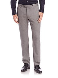 Giorgio Armani Wool Dress Pants Black