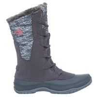 The North Face Nuptse Purna Women's Insulated Boots Smoked Pearl Grey Calypso Coral