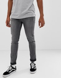 Cheap Monday Tight Skinny Jeans In Grey Crude Grey