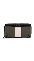 Rag And Bone Crosby Continental Wallet Smoke