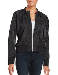 Free People Lightweight Bomber Jacket Black