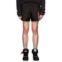 Off White C O Virgil Abloh Monalisa Tech Taffeta Swim Trunks Black