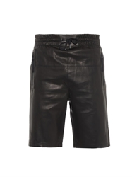 Helmut Lang Bonded Leather Shorts