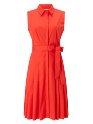 Precis Petite Demi Shirt Dress Orange
