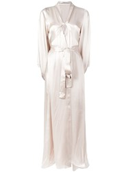 Ikonostas Long Night Gown Nude Neutrals