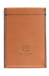 Men's M Clip Rfid Card Case Brown Tan