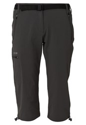 Regatta Xert 3 4 Sports Trousers Seal Grey Dark Gray