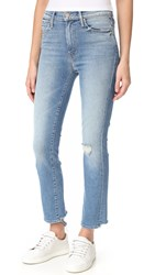 Mother High Waist Rascal Ankle Jeans Love Gun