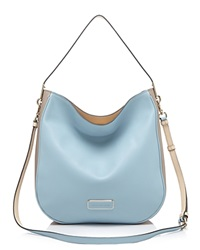 Marc By Marc Jacobs Hobo Colorblock Ligero Faded Blue Multi