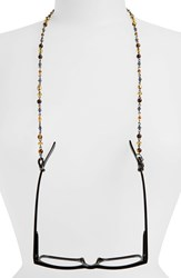 Corinne Mccormack 'London Rosary' Beaded Eyewear Chain Silver