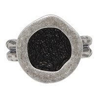 Guidi Silver Oval Top Ring