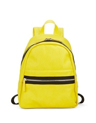 Kensie Truth Or Flair Backpack Neon Citrus