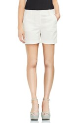 Vince Camuto Cuffed Shorts Ultra White