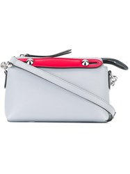 Fendi Mini By The Way Crossbody Bag Grey