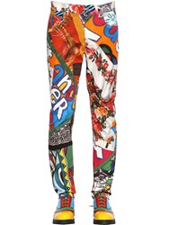 Moschino Archive Printed Pants Multicolor