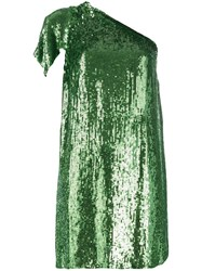 P.A.R.O.S.H. Sequinned Dress Green