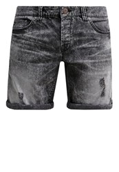 Only And Sons Onsloom Denim Shorts Dark Grey Denim Black Denim