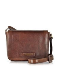 The Bridge Bruges Marrone Leather Crossbody Bag