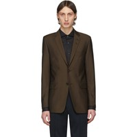 Tiger Of Sweden Brown Wool 2018 Blazer