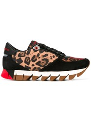 Dolce And Gabbana Leopard Print Sneakers