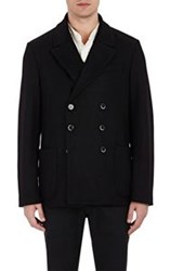 Barena Venezia Double Breasted Sportcoat Black Size 54 Eu