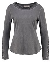 Cream Sonja Long Sleeved Top Smoked Pearl Grey