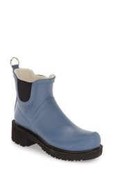 Women's Ilse Jacobsen Hornbaek 'Rub 47' Short Waterproof Rain Boot Moonstone