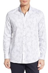 Ted Baker 'Twoaces' Modern Slim Fit Sport Shirt White
